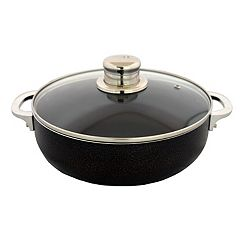 IMUSA 3.2-qt. Nonstick Caldero with Glass Lid