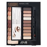 Jolee New York Natural Eyes 10-pc. Eyeshadow Palette