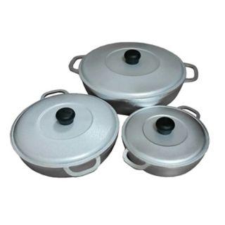 IMUSA 3-pc. Cast-Aluminum Caldero Set