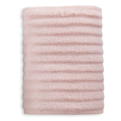 Sonoma Goods For Life Quick Dry Ribbed Bath Towel