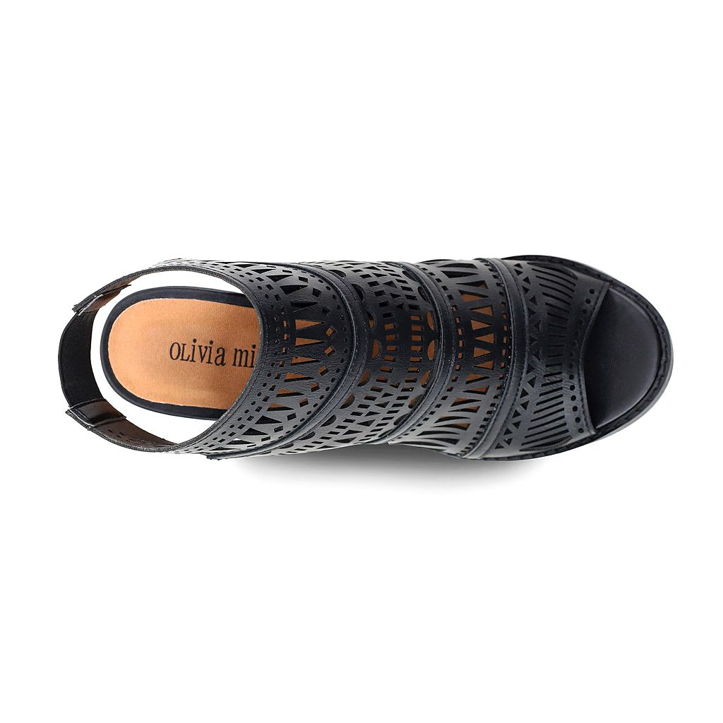 Olivia Miller Ridgewood Women's High Heel Ankle Boots