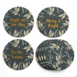 "LC Lauren Conrad ""Merry & Bright"" Coaster Set"