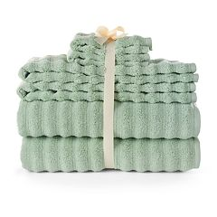 SONOMA Goods For Life™ Quick Dry Ribbed 6 pc Bath Towel Set