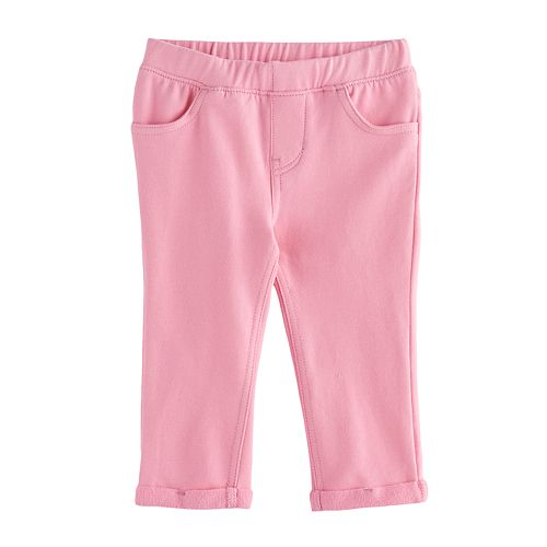Baby Girl Jumping Beans® Roll-Cuff Jeggings