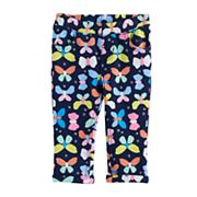 Jumping Beans® Baby Girl Capri Printed Jeggings
