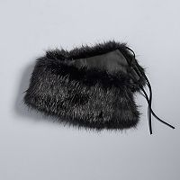 Simply Vera Vera Wang Faux Fur Collar