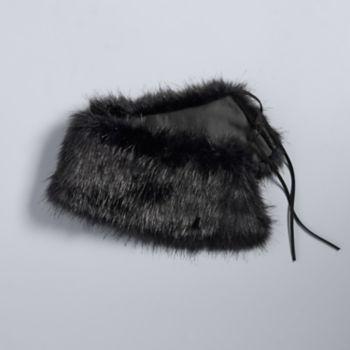 Simply Vera Vera Wang Faux Fur Collar