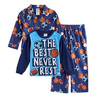 Boys 4-20 Sports 3-Piece Pajama Set