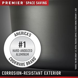 Calphalon Premier Space Saving 10-pc. Nonstick Cookware Set