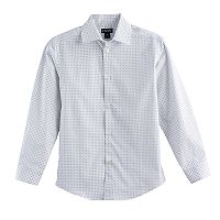 Boys 6-20 Chaps Four-Star Button-Down Shirt