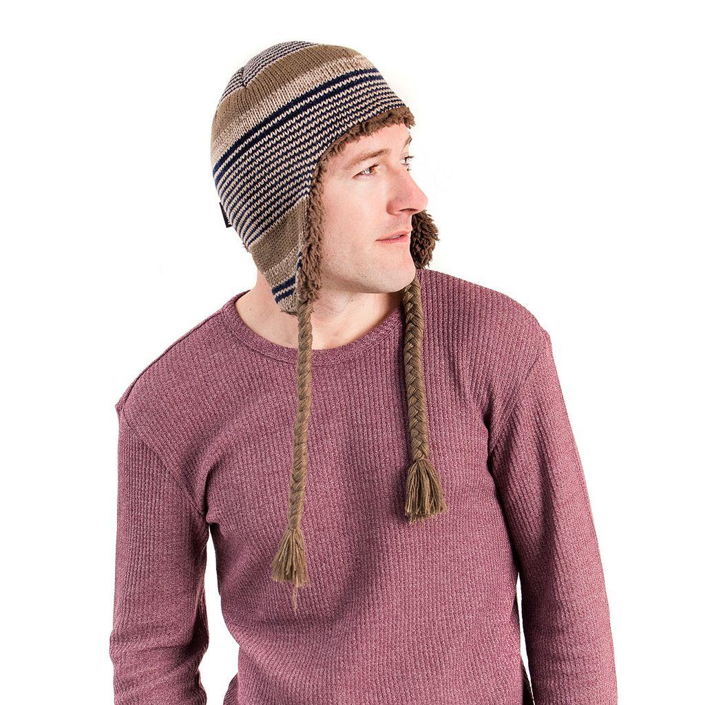Men's MUK LUKS Cable-Knit Ski Hat