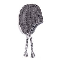 Men's MUK LUKS Cable-Knit Ski Hat