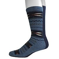 Men's Dockers 2-pack Southwestern and Solid Crew Socks