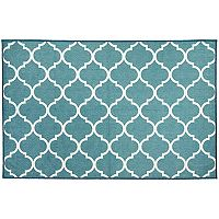 Ruggable® Washable Moroccan Trellis 2 pc Indoor Outdoor Rug System