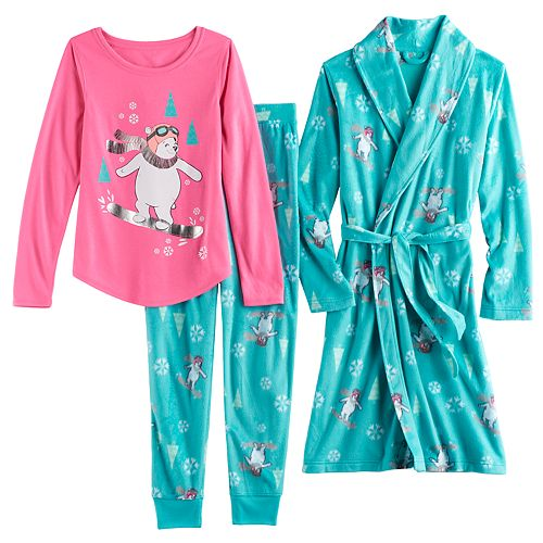 Girls 4-14 SO® Fleece Robe e7329064d