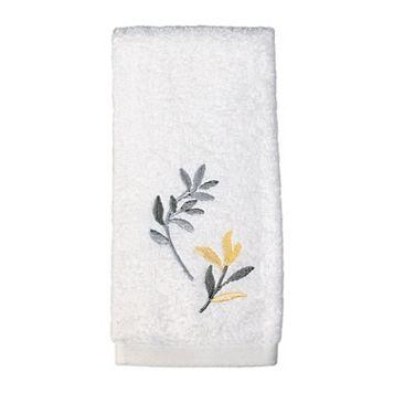 Saturday Knight, Ltd. Trellis Floral Fingertip Towel
