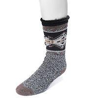 Men's MUK LUKS Heat-Retainer Socks