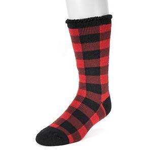 Men's MUK LUKS 1-pack Heat Retainers Thermal Solid Socks