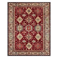 Ruggable® Washable Noor Framed Floral 2-piece Indoor Outdoor Rug System