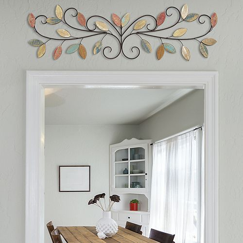 Stratton Home Decor Leaves Over-The-Door Wall Decor