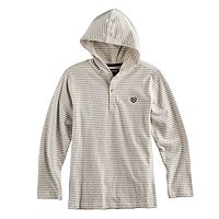 Boys 4-20 Chaps Striped Hooded Tee