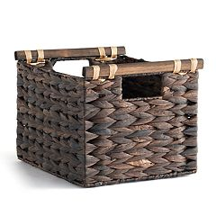 Soho Market Water Hyacinth Storage Basket