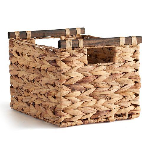 Soho Market Water Hyacinth Storage Basket