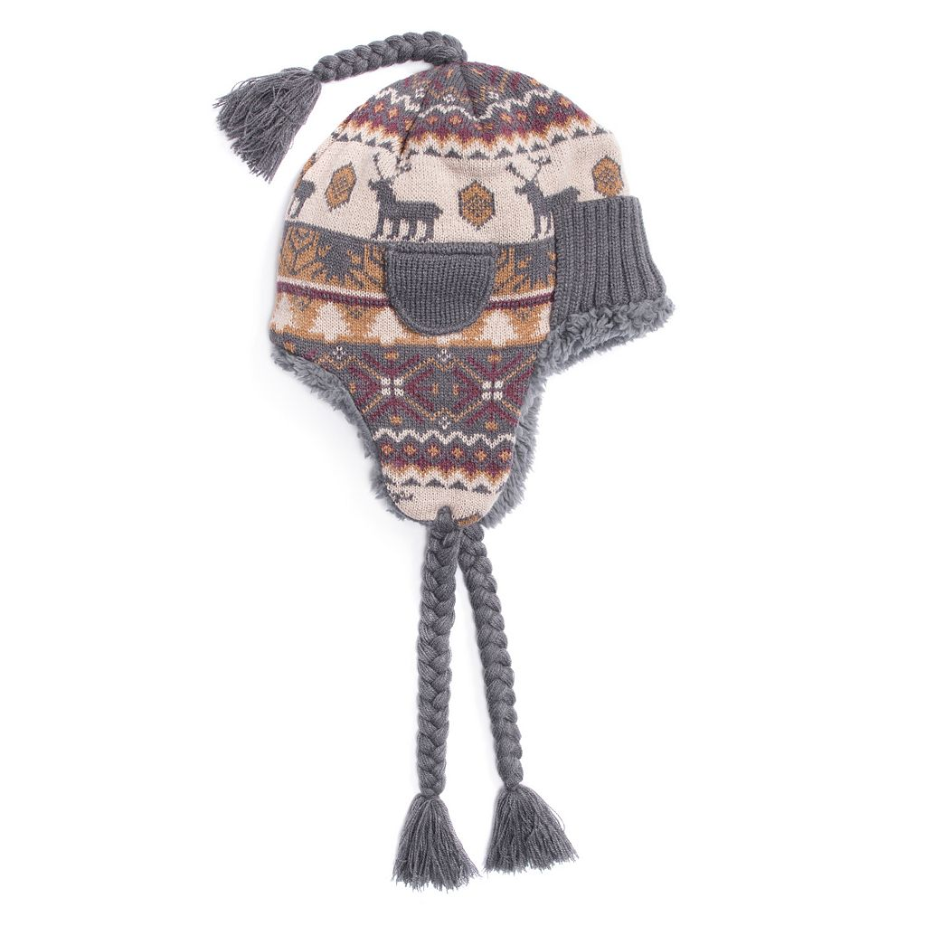 Men's MUK LUKS Cuffed Trapper Hat