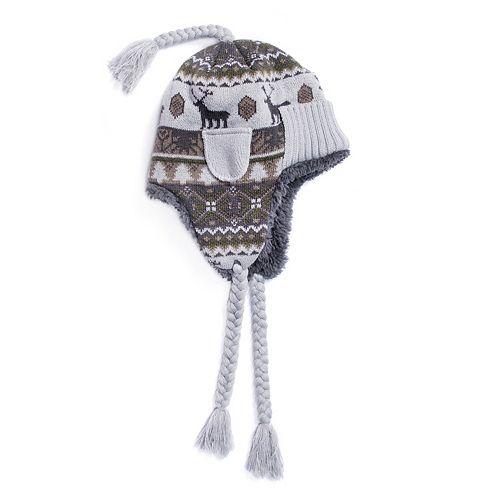 0e31d7ab3b5a5 Men s MUK LUKS Cuffed Trapper Hat