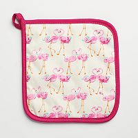Laura Ashley Flamingo Pot Holder