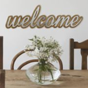 "Stratton Home Decor Farmhouse ""Welcome"" Wall Decor"