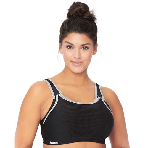 Glamorise Bra: Elite Performance Double-Layer Custom Control High-Impact Sports Bra 1167