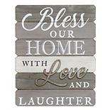 "Stratton Home Decor ""Our Home"" Farmhouse Wall Decor"