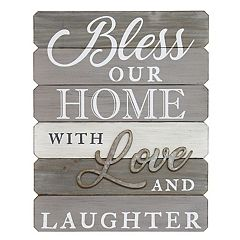 Stratton Home Decor 'Our Home' Farmhouse Wall Decor