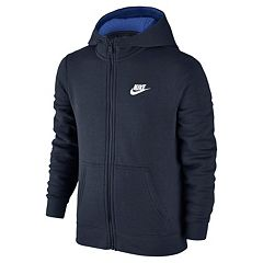 Boys 8-20 Nike Full-Zip Club Hoodie