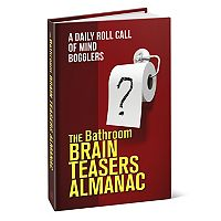 The Bathroom Brain Teasers Almanac Book