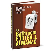 The Bathroom Football Almanac Book
