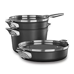 Calphalon Premier Space Saving 5-pc. Nonstick Supper Club Cookware Set