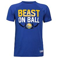 Boys 8-20 Under Armour Golden State Warriors Beast on Ball Tee