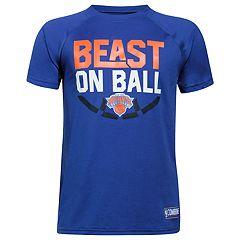 Boys 8-20 Under Armour New York Knicks Beast on Ball Tee