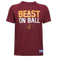 Boys 8-20 Under Armour Cleveland Cavaliers Beast on Ball Tee