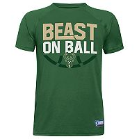 Boys 8-20 Under Armour Milwaukee Bucks Beast on Ball Tee