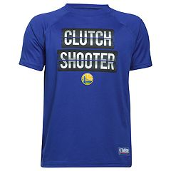 Boys 8-20 Under Armour Golden State Warriors Clutch Shooter Tee