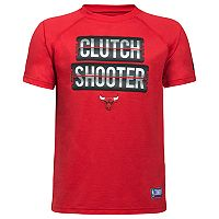 Boys 8-20 Under Armour Chicago Bulls Clutch Shooter Tee