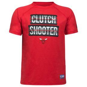 Boys 8-20 Under Armour Chicago Bulls Clutch Shooter Tee