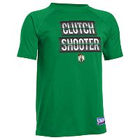 Boys 8-20 Under Armour Boston Celtics Clutch Shooter Tee