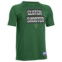 Boys 8-20 Under Armour Milwaukee Bucks Clutch Shooter Tee