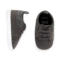 Baby Boy Carter's Wool Pop Sneaker Crib Shoes