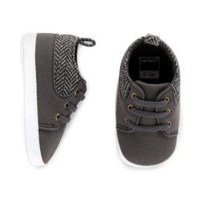 Baby Boy Carter's Wool Pop Sneaker Crib Shoes