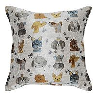 Spencer Home Decor First in Show Jackquard Throw Pillow